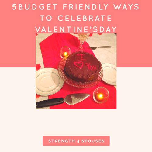 5 Budget Friendly Ways to Celebrate Valentine's Day