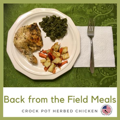 Crock Pot Herbed Chicken