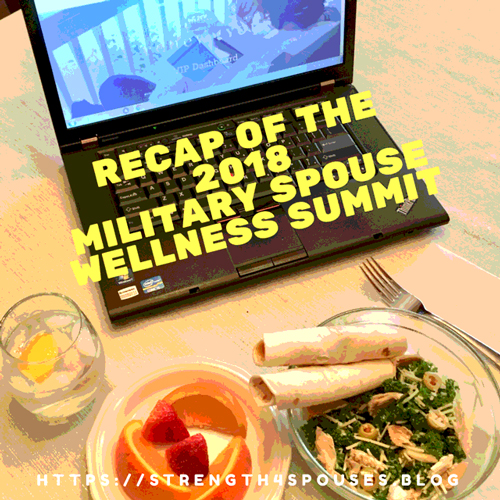 Recap of the 2018 Military Spouse Wellness Summit