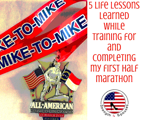 5 Life Lessons Learned While Training For and Completing My First Half Marathon