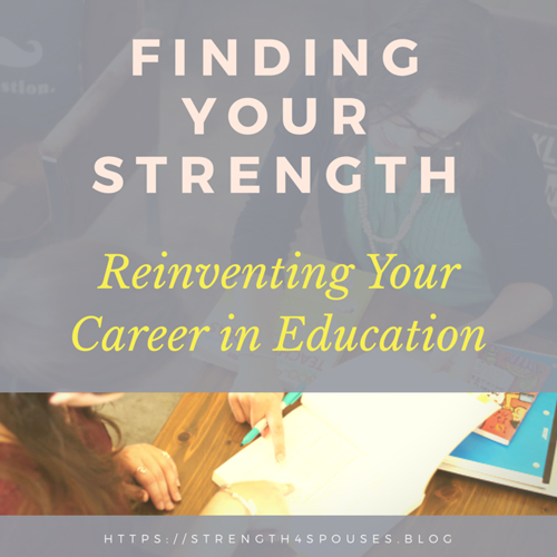 Reinventing Your Career in Education