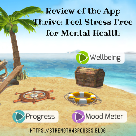 Review of Thrive: Feel Stress Free App for Mental Health