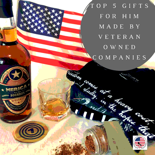 Top 5 Gifts for Him Made by Veteran-Owned Companies