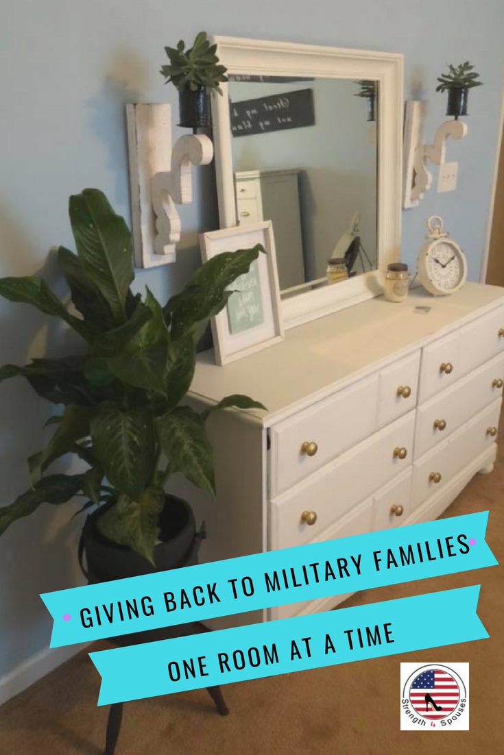 Giving Back to Military Families, One Room at a Time