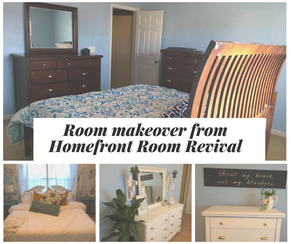 Room makeover from Homefront Room Revival