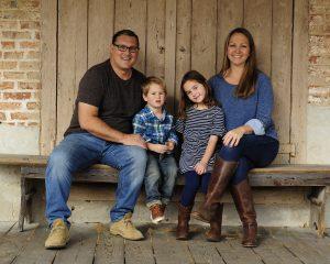 Christopher Galluccio and his family