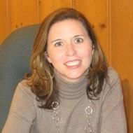 headshot of the author Ashley Marshall