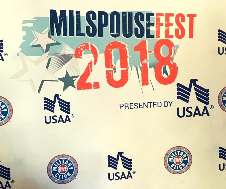 Recap of MilSpouse Fest at Fort Bragg