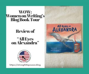 """cover of the book """"All Eyes on Alexandra"""""""