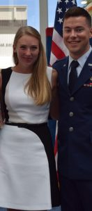 Zoie and her husband
