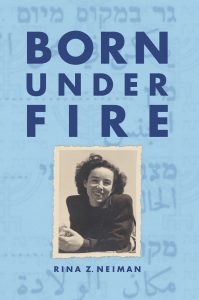 """cover of the book """"Born Under Fire"""""""