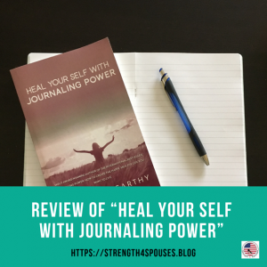 """The cover of the book """"Heal Your Self With Journaling Power"""""""