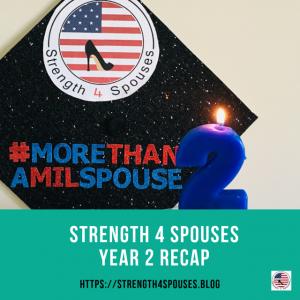 Strength 4 Spouses Year 2 Recap