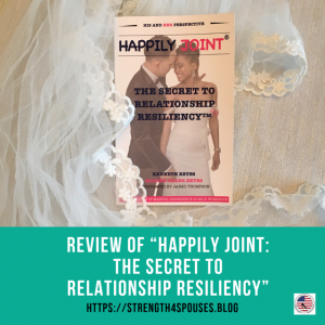"""The cover of the book """"Happily Joint: The Secret to Relationship Resiliency"""""""