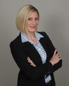 headshot of the author Erin Morris