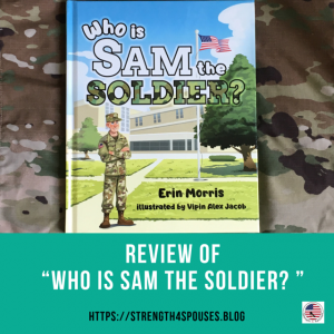 """the cover of the book """"Who is Sam the Soldier?"""""""