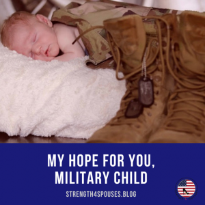 a baby sleeping with a military uniform