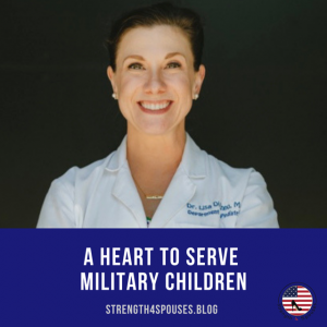 A heart to serve military children