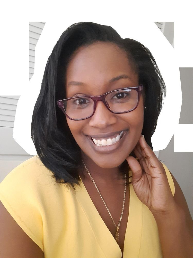 headshot of the author Shermaine Perry-Knights