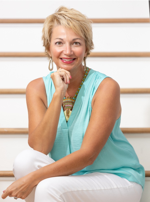 headshot of the author Michele Sammons